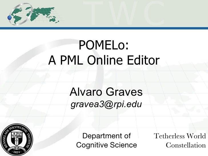 POMELo: A PML Online Editor