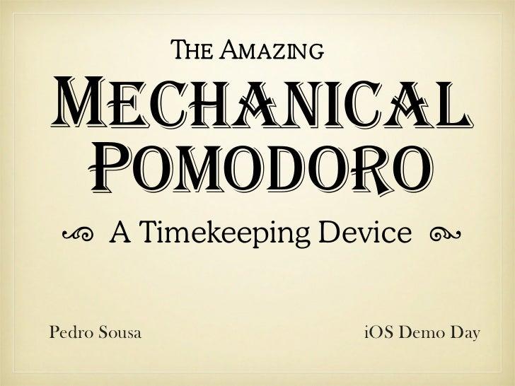 App Mechanical Pomodoro para iPhone