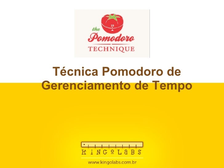Workshop - Técnica Pomodoro de gerenciamento de tempo