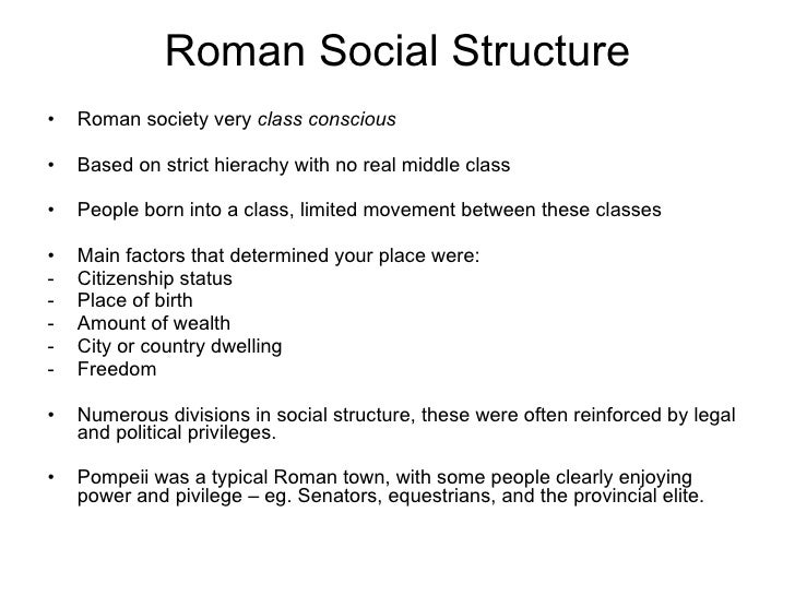 Political & Social Structure of Greece and Rome?