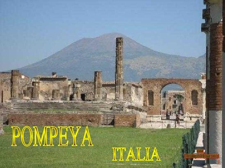 POMPEYA ITALIA www. laboutiquedelpowerpoint. com