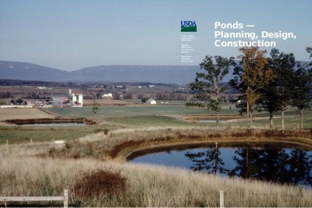 Pond building for farms livestock for Pond building tips