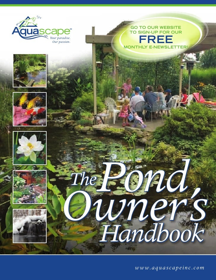 Pond Owners Manual