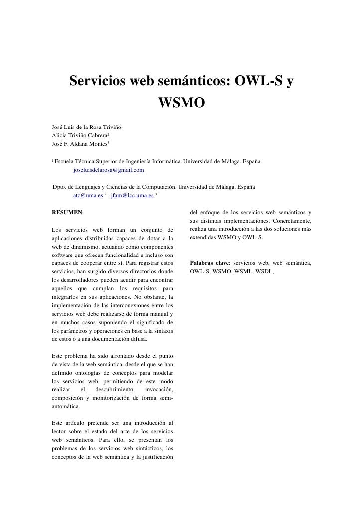 Semantic Web Services: OWLS and WSMO