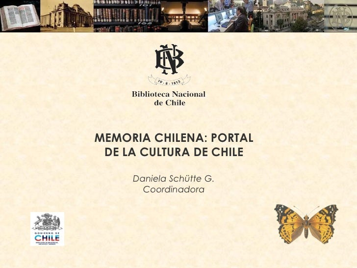 Ponencia Memoria Chilena.