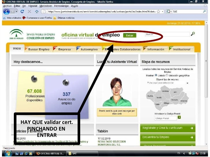 Ponencia certificado digital andalucia orienta - Oficinas certificado digital ...