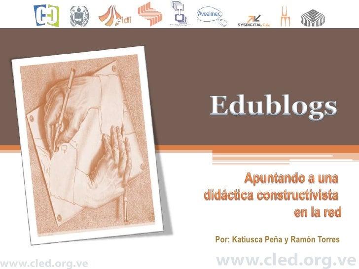 Ponencia Edublog CLED 2009