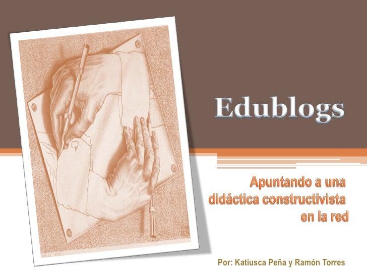 Ponencia Edublog Presentacion