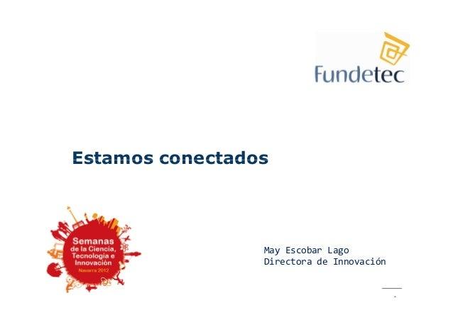 FUNDETEC: Estamos conectados