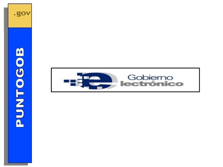 GOBIERNO ELECTRÓNICO PUNTOGOB