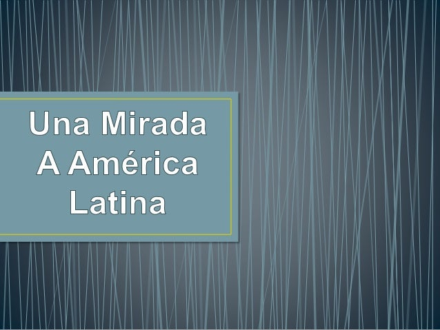 Latinoamérica es una extensión comprendida por países de  habla neolatina, es decir:  • Las naciones de habla española son...