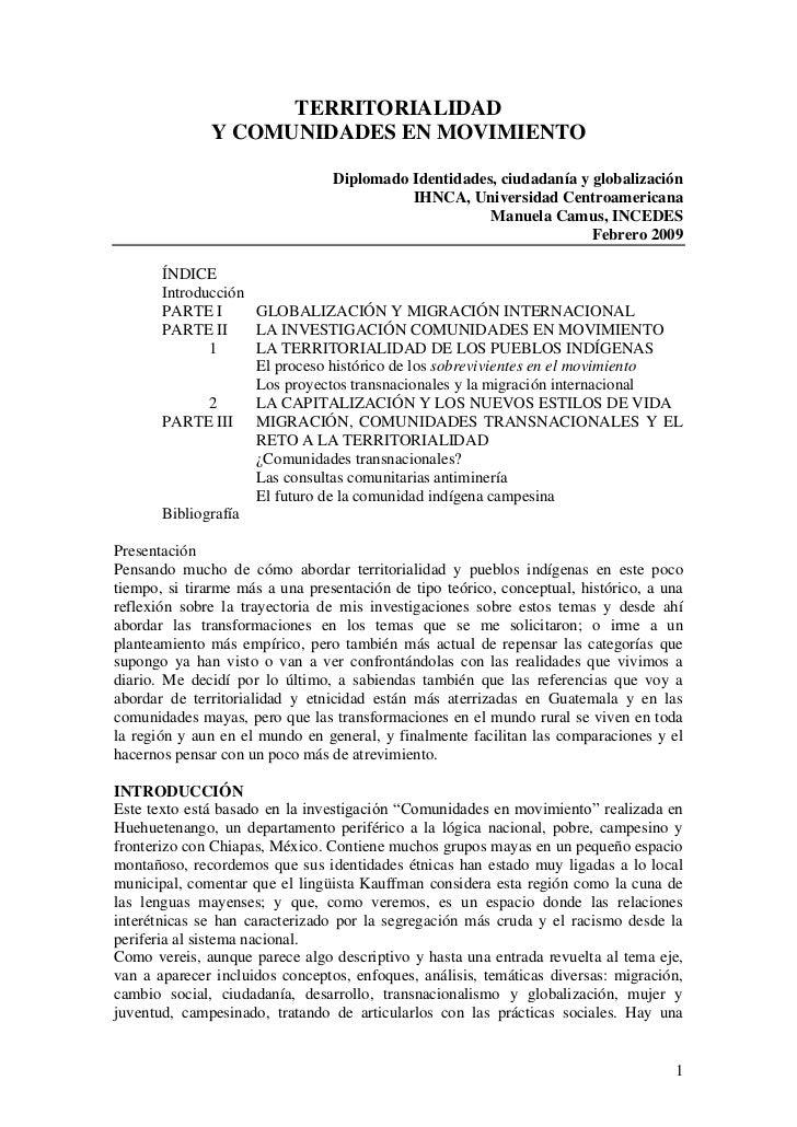 Ponencia manuela camus_territorialidad_y_comunides