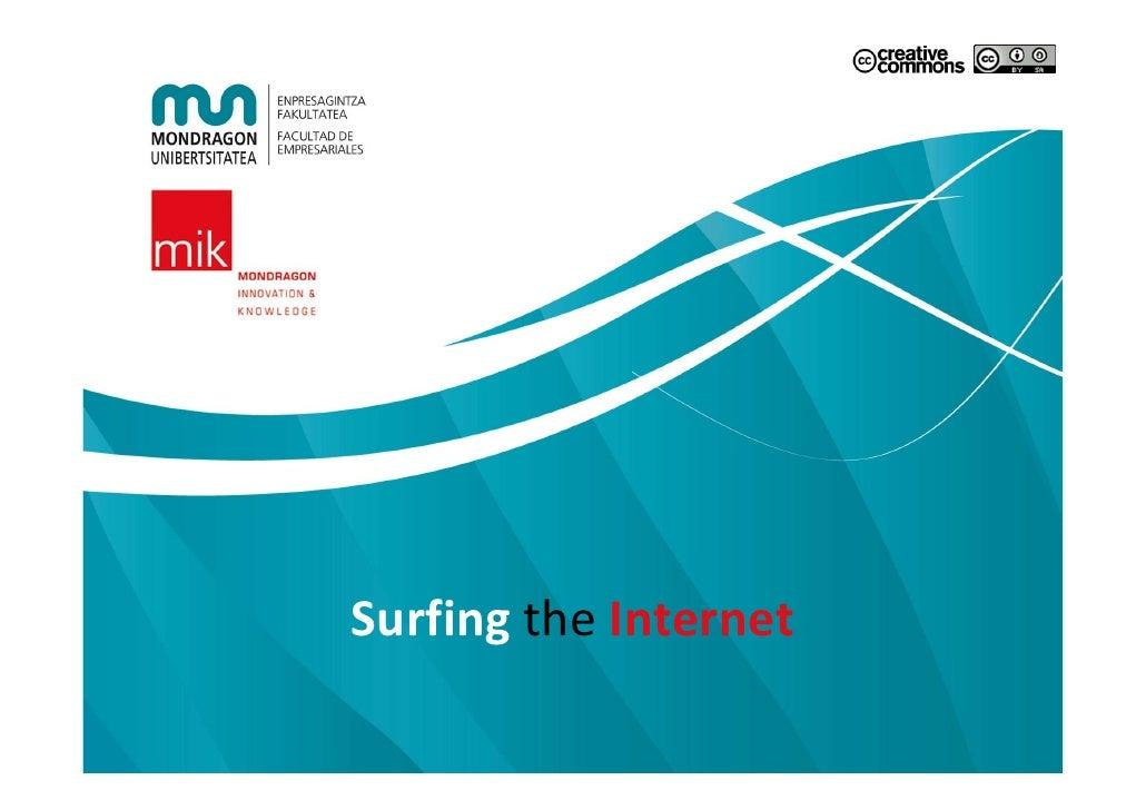 Surfingthe Internet