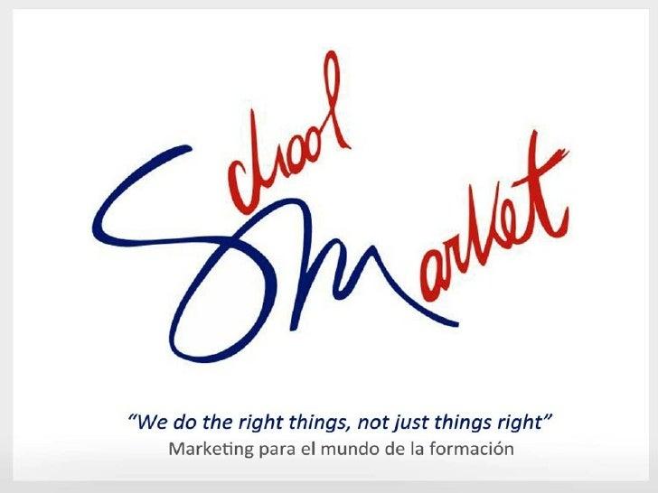 (I) SchoolMarket en Congreso Escuela Eficaz