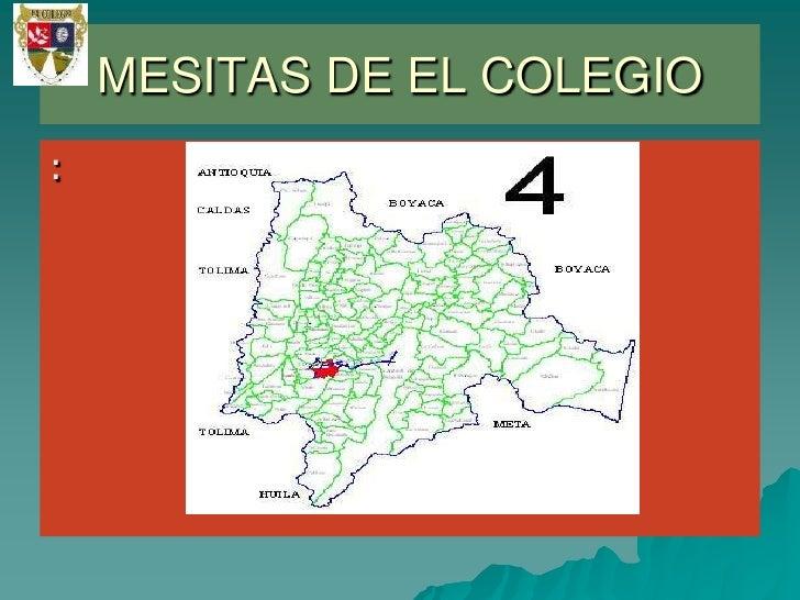 :<br />MESITAS DE EL COLEGIO<br />