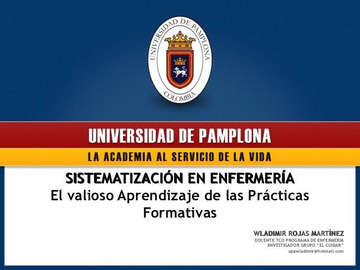 Ponencia sistematización sept 2012