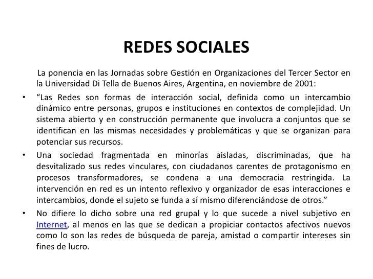 REDES SOCIALES<br />       La ponencia en las Jornadas sobre Gestión en Organizaciones del Tercer Sector en la Universidad...