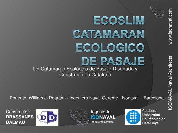 Ponencia william pegram
