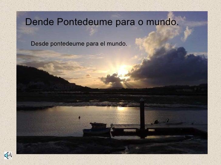 Desde Pontedeume