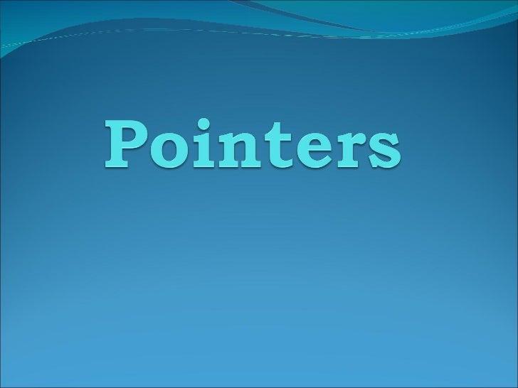 Ponters