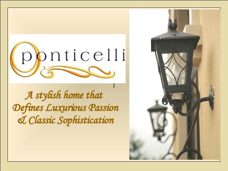 ] A stylish home that  Defines Luxurious Passion & Classic Sophistication