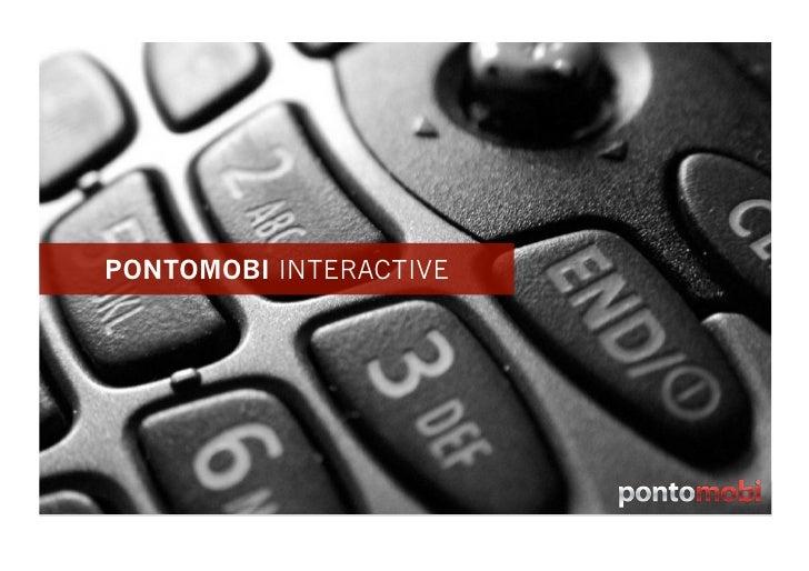 Pontomobi Mobile Sites Jan10