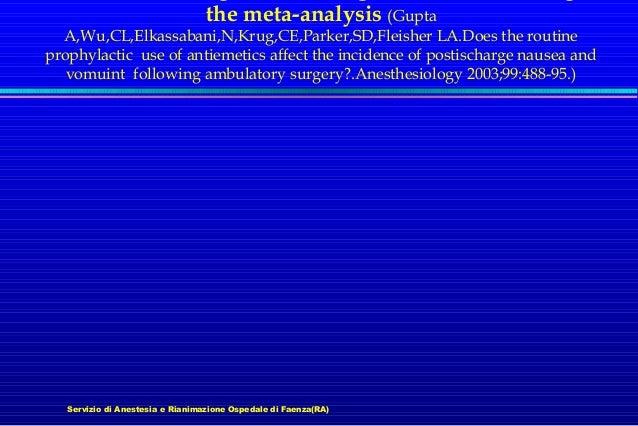 the meta-analysis (Gupta  A,Wu,CL,Elkassabani,N,Krug,CE,Parker,SD,Fleisher LA.Does the routine prophylactic use of antieme...
