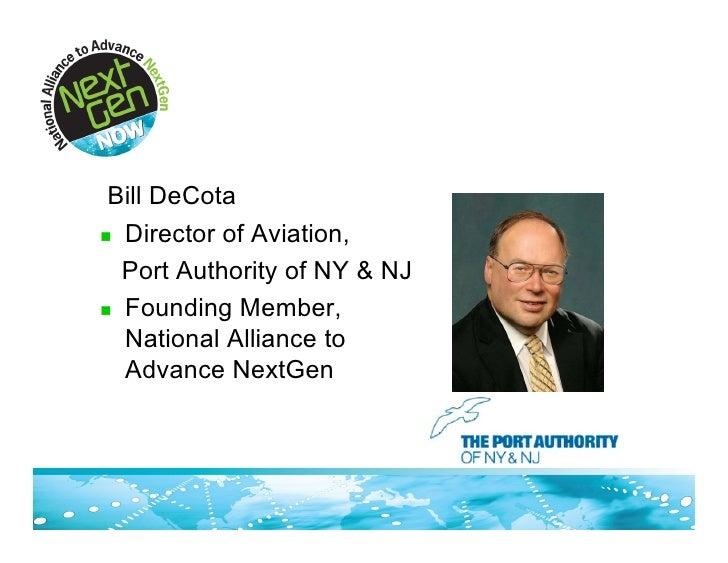 Port Authority of NY & NJ Presentation