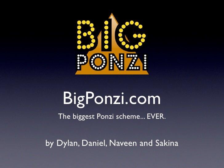 BigPonzi.com
