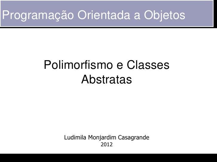 POO - 16 - Polimorfismo
