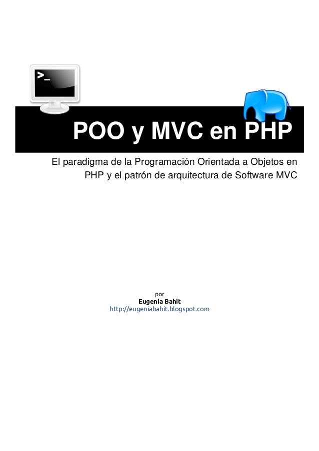 POO y MVC en PHP