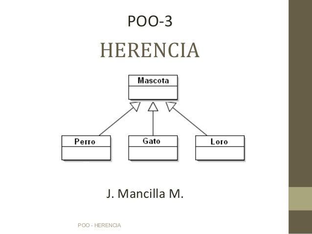 Poo 3 herencia