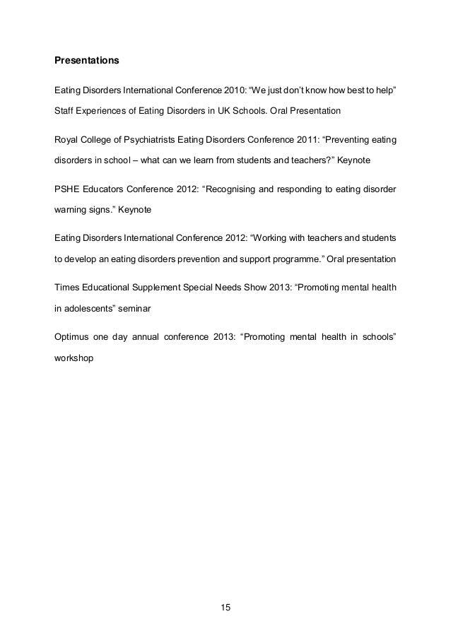 Ph d thesis medicine