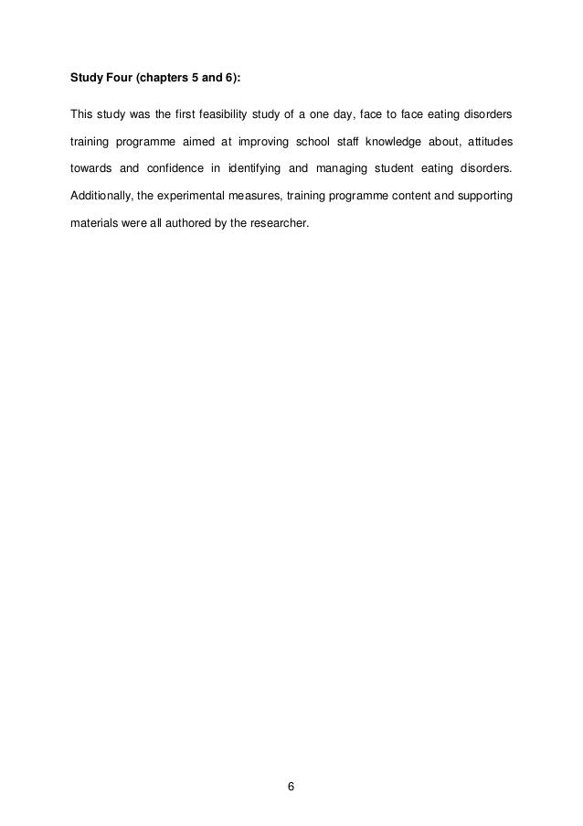 Possible research topics for Master Thesis - Universitat de Valncia
