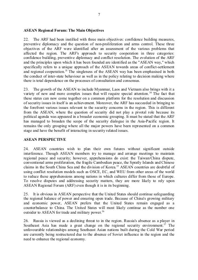 asean essay topic an essay on the expansion of asean implications for ...
