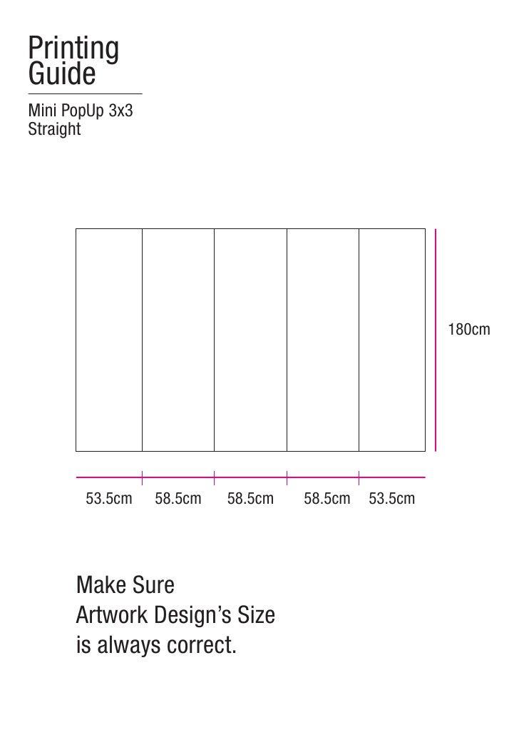 PrintingGuideMini PopUp 3x3Straight                                                     180cm       53.5cm    58.5cm   58....