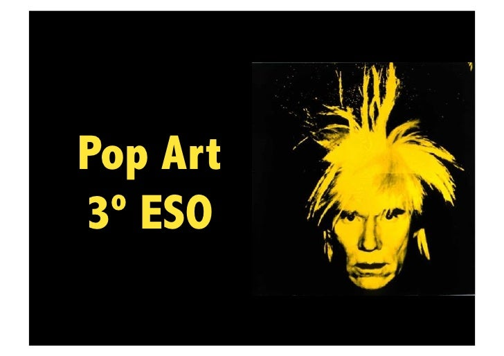 Pop Art3º ESO