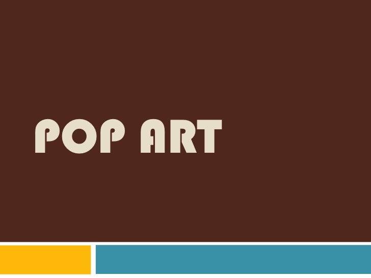 Pop art<br />