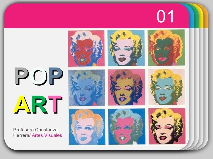WINTER Template 01 P O P   A R T Profesora Constanza Herrera / Artes Visuales
