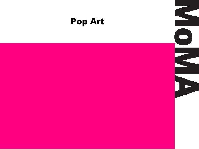 Pop art appropriation 1 for Minimal art slideshare