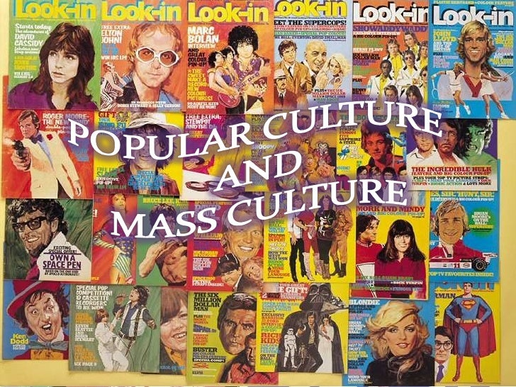 mass media and popular culture Mass media is communication—whether written, broadcast, or spoken—that   sociologists refer to this as a mediated culture where media reflects and creates   because, although highly popular and beloved in rural america, the program  did.
