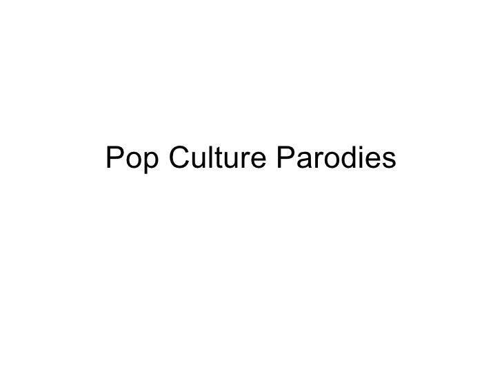 Pop Culture Parodies