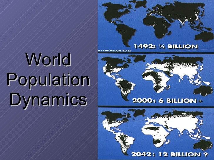World Population Dynamics