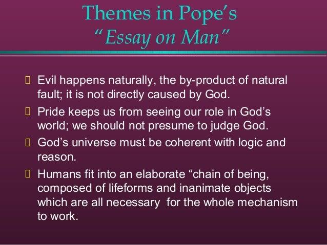 Essay Of Man