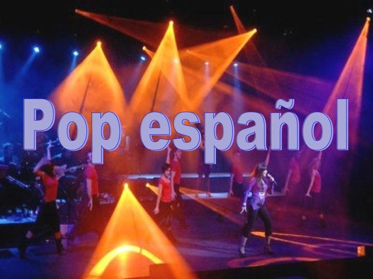Pop español
