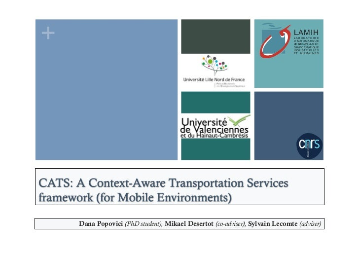 CATS: A Context-Aware Transportation Services Framework for Mobile Environments
