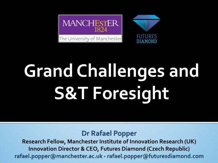 Grand Challenges and   S&T Foresight