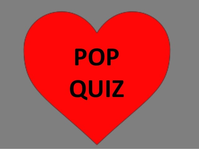 Pop quiz powerpoint
