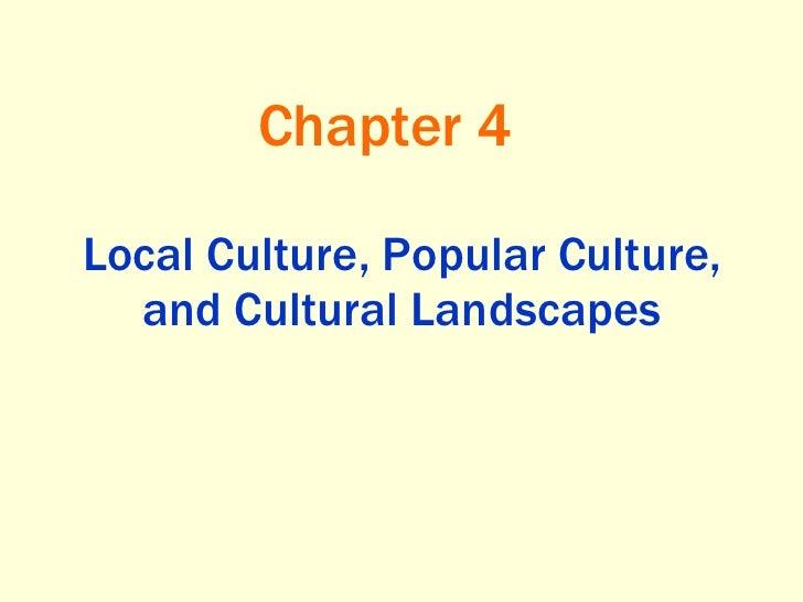 Popular&folkcultures