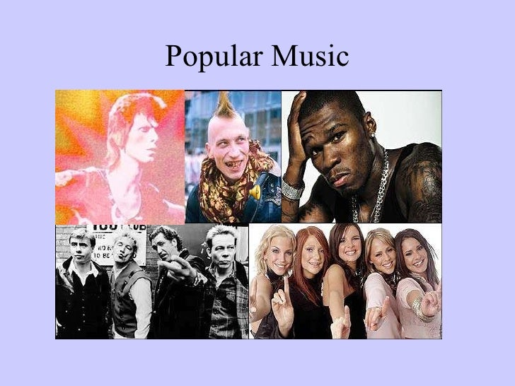 Popular Music - AS COMMS